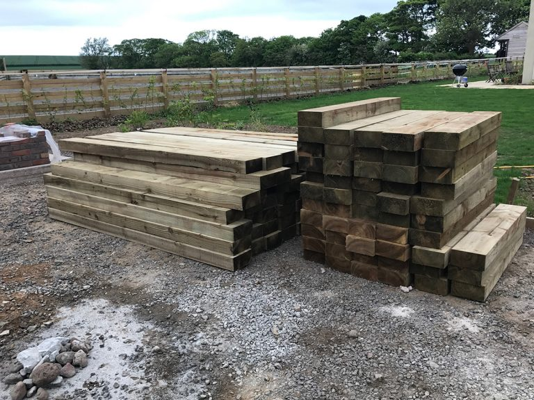 Drem Timber and Fencing are timber specialists based in East Lothian. Sleepers