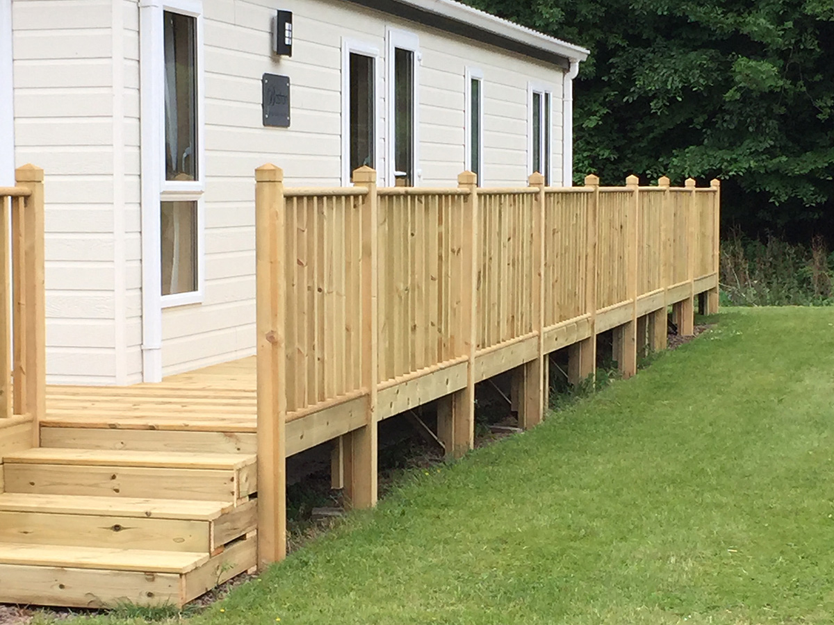Drem Timber and Fencing are timber specialists based in East Lothian. Decking