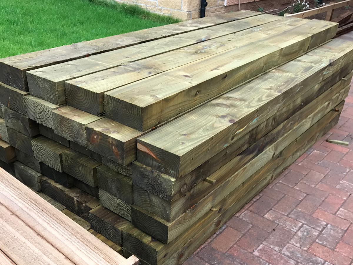 Drem Timber and Fencing are timber specialists based in East Lothian. Timber Sleepers